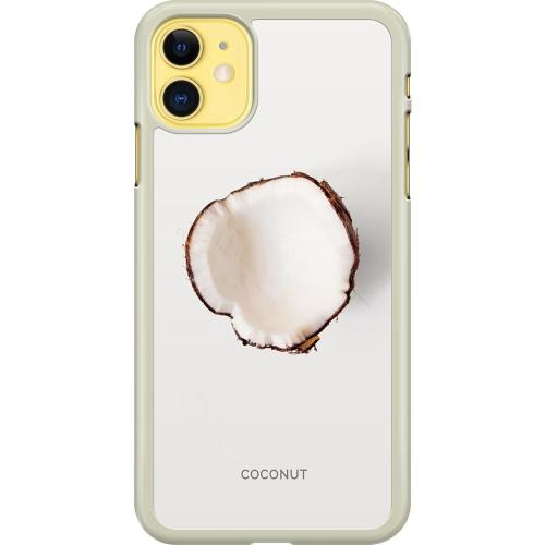 Apple iPhone 11 Hard Case (Transparent) Coconut