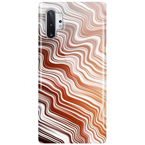 Samsung Galaxy Note 10 Plus LUX Mobilskal (Glansig) Distorted Soundwaves