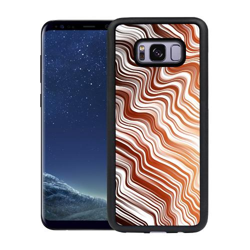 Samsung Galaxy S8 Plus Mobilskal Distorted Soundwaves
