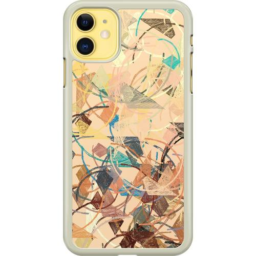 Apple iPhone 11 Hard Case (Transparent) Colourful Expectations