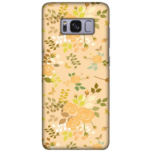 Samsung Galaxy S8 LUX Mobilskal (Matt) Flowery Tapestry
