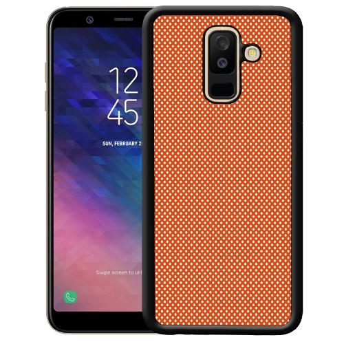 Samsung Galaxy A6 Plus (2018) Mobilskal Orange Droplets