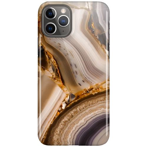 Apple iPhone 11 Pro LUX Mobilskal (Glansig) Amber Agate