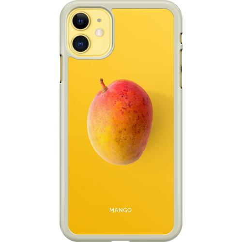 Apple iPhone 11 Hard Case (Transparent) Mango