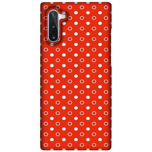 Samsung Galaxy Note 10 LUX Mobilskal (Matt) Dots and Tags
