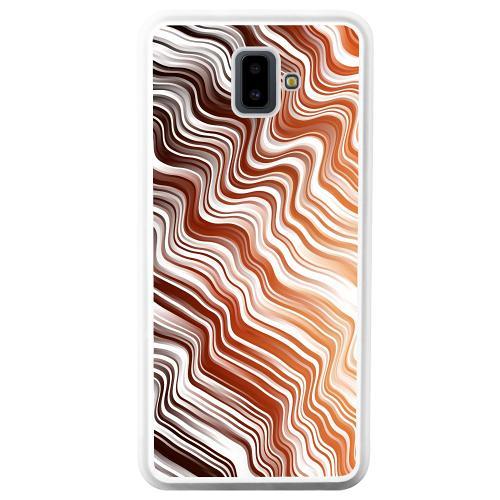 Samsung Galaxy J6 Plus (2018) Mobilskal Distorted Soundwaves