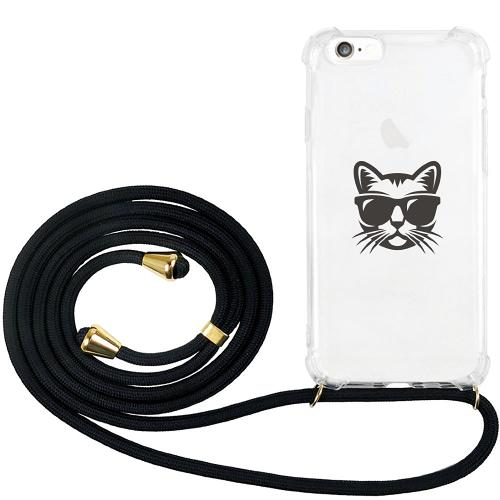 Apple iPhone 6 / 6S GLAM. Case Band Guld Hund