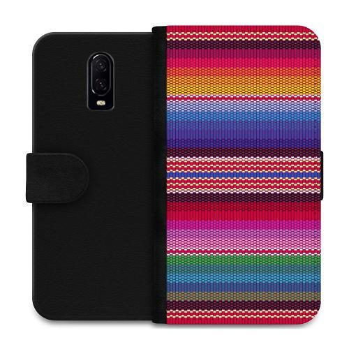 OnePlus 6T Plånboksfodral Vivid Tapestry