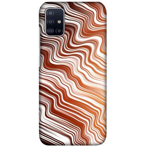 Samsung Galaxy A51 LUX Mobilskal (Matt) Distorted Soundwaves