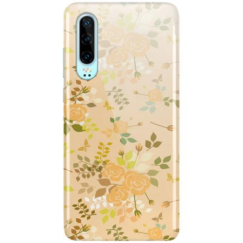 Huawei P30 LUX Mobilskal (Glansig) Flowery Tapestry