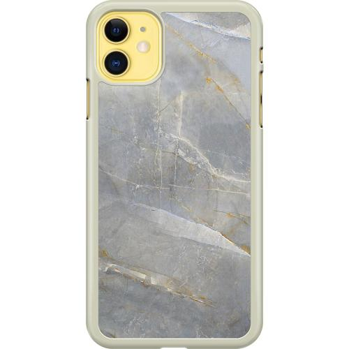 Apple iPhone 11 Hard Case (Transparent) Coarse Stone