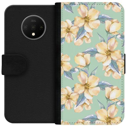 OnePlus 7T Plånboksfodral Waterproof Flowers