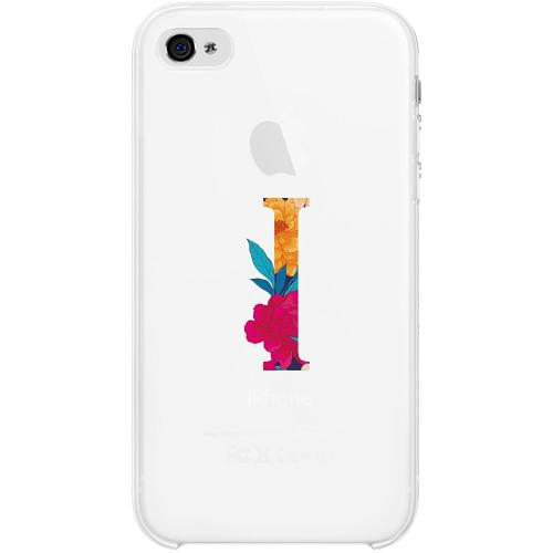 Apple iPhone 4 / 4s Firm Case Bokstaven - I