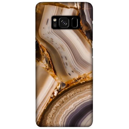 Samsung Galaxy S8 Plus LUX Mobilskal (Matt) Amber Agate