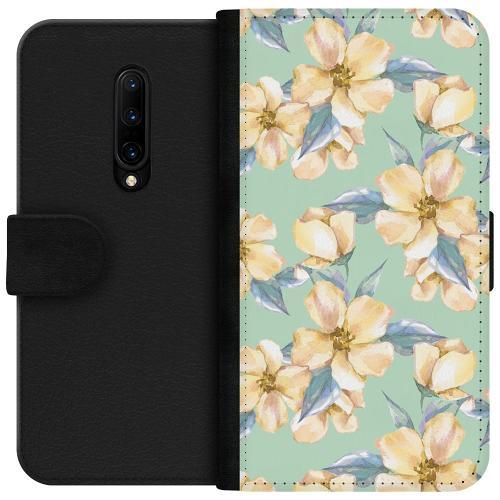 OnePlus 7T Pro Plånboksfodral Waterproof Flowers