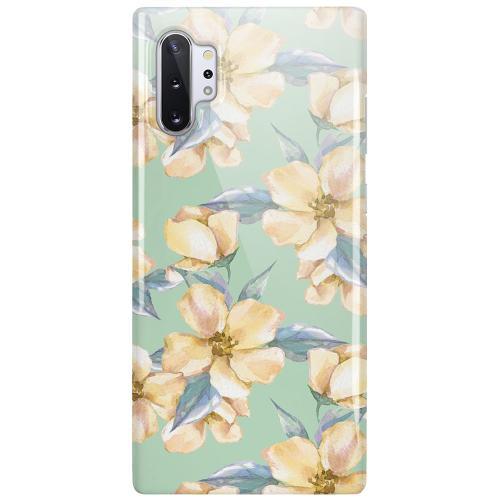 Samsung Galaxy Note 10 Plus LUX Mobilskal (Glansig) Waterproof Flowers