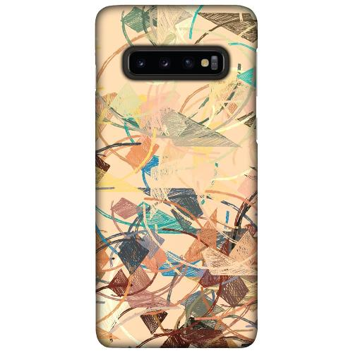 Samsung Galaxy S10 Plus LUX Mobilskal (Matt) Colourful Expectations