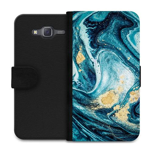 Samsung Galaxy J5 Plånboksfodral Golden Lavation