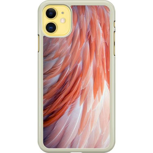 Apple iPhone 11 Hard Case (Transparent) Coral Paradise