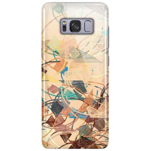 Samsung Galaxy S8 LUX Mobilskal (Glansig) Colourful Expectations