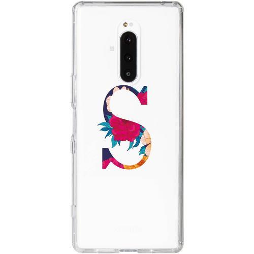 Sony Xperia 1 Thin Case Bokstaven - S