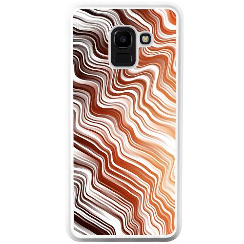 Samsung Galaxy J6 (2018) Mobilskal Distorted Soundwaves