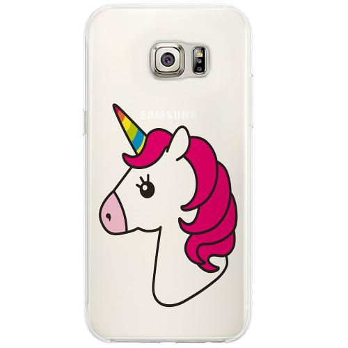 Samsung Galaxy S6 Edge Firm Case Unicorn