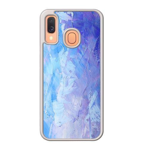 Samsung Galaxy A40 Mobilskal Pristine Pastel Strokes