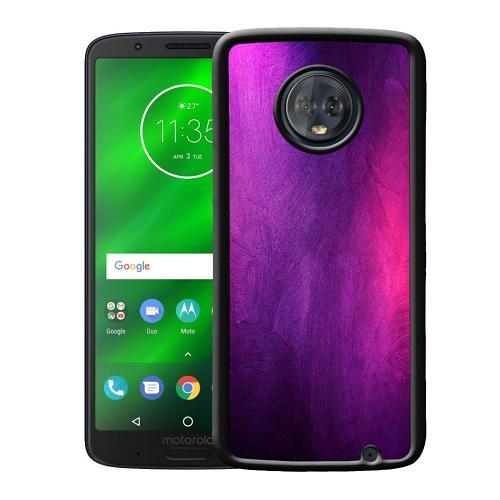 Motorola Moto G6 Plus Mobilskal Purple and Profound