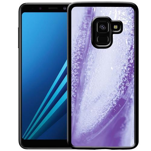 Samsung Galaxy A8 (2018) Mobilskal Glacial Lavendel