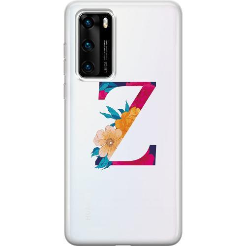 Huawei P40 Thin Case Bokstaven - Z