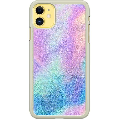 Apple iPhone 11 Hard Case (Transparent) Frosted Lavendel