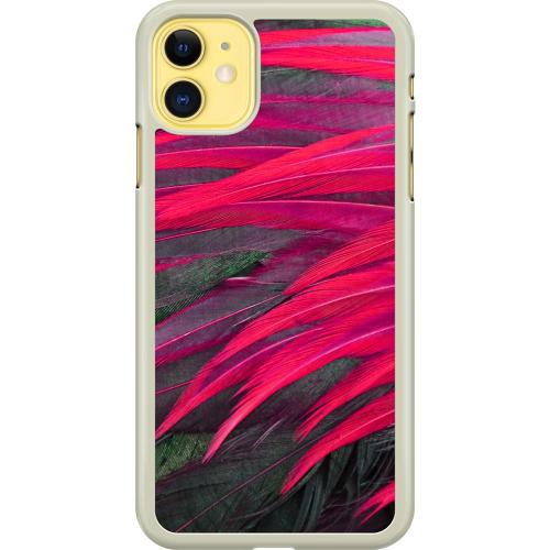 Apple iPhone 11 Hard Case (Transparent) Cardinal Wing