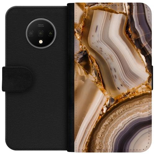OnePlus 7T Plånboksfodral Amber Agate