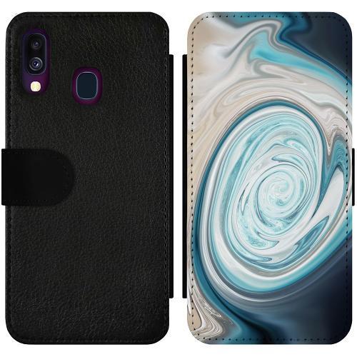 Samsung Galaxy A40 Wallet Slimcase Timeskip