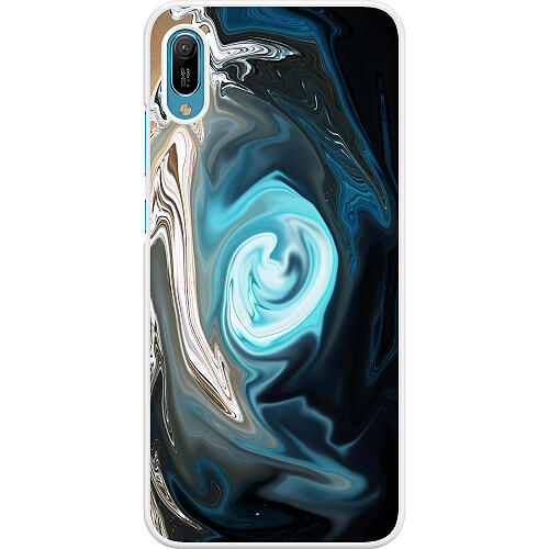 Huawei Y6 (2019) Hard Case (White) Twisted Reality