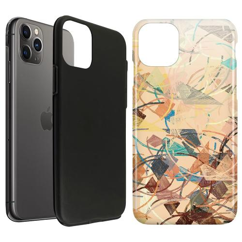 Apple iPhone 11 Pro Max LUX Duo Case Colourful Expectations