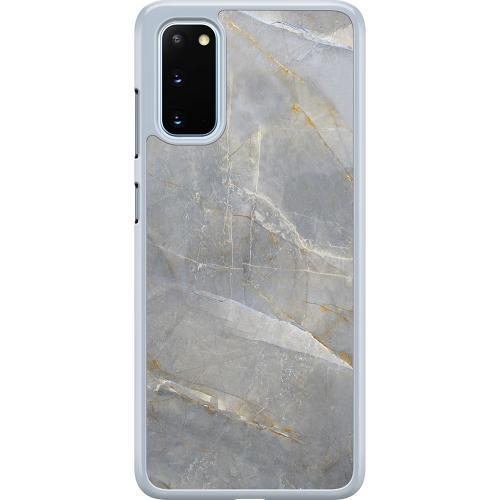 Samsung Galaxy S20 Hard Case (Transparent) Coarse Stone