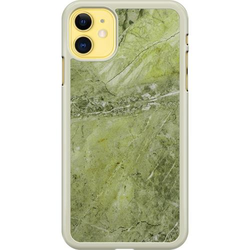 Apple iPhone 11 Hard Case (Transparent) Sage Stone