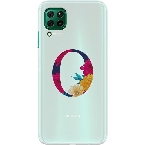 Huawei P40 Lite Thin Case Bokstaven - O