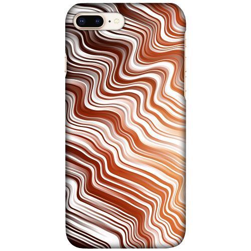 Apple iPhone 7 Plus LUX Mobilskal (Matt) Distorted Soundwaves