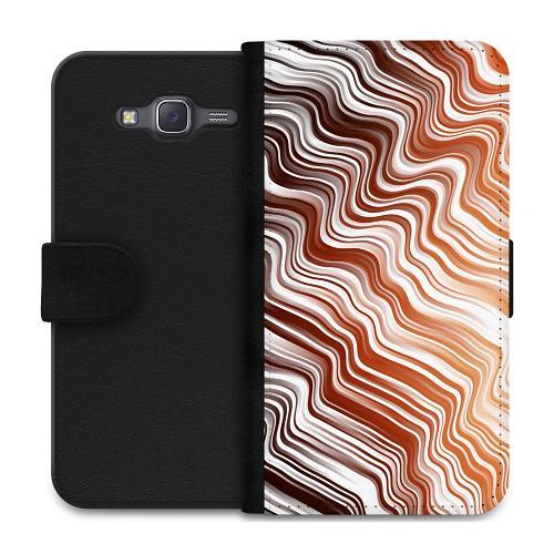 Samsung Galaxy J5 Plånboksfodral Distorted Soundwaves