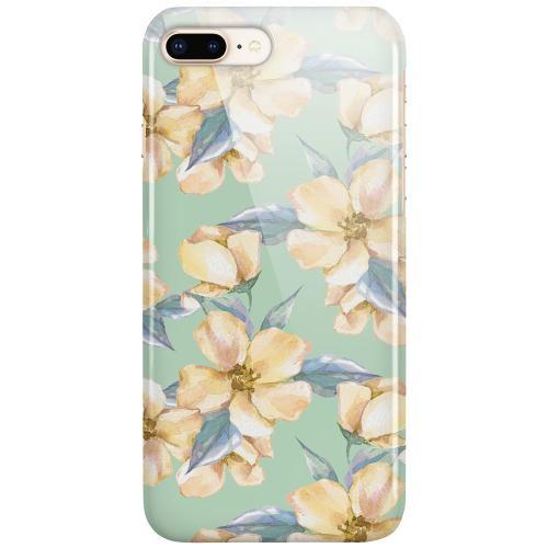 Apple iPhone 7 Plus LUX Mobilskal (Glansig) Waterproof Flowers