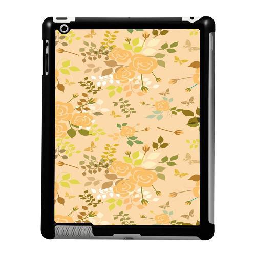 Apple iPad 2/3/4 Skal Flowery Tapestry