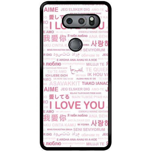 LG V30S ThinQ Mobilskal International Love