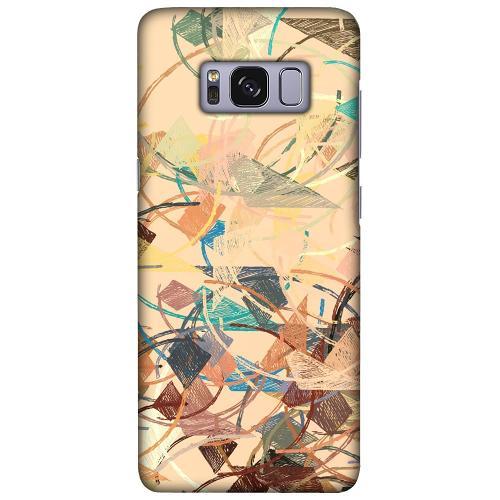 Samsung Galaxy S8 LUX Mobilskal (Matt) Colourful Expectations