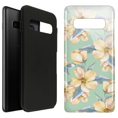Samsung Galaxy S10 Plus LUX Duo Case Waterproof Flowers