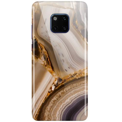 Huawei Mate 20 Pro LUX Mobilskal (Glansig) Amber Agate