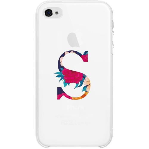 Apple iPhone 4 / 4s Firm Case Bokstaven - S