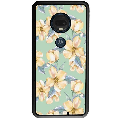 Motorola Moto G7 Plus Mobilskal Waterproof Flowers